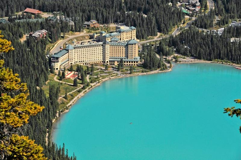 Horské středisko Lake Louise