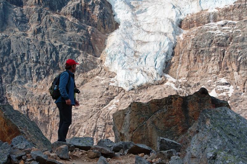 Splaz ledovce Emerald Glacier
